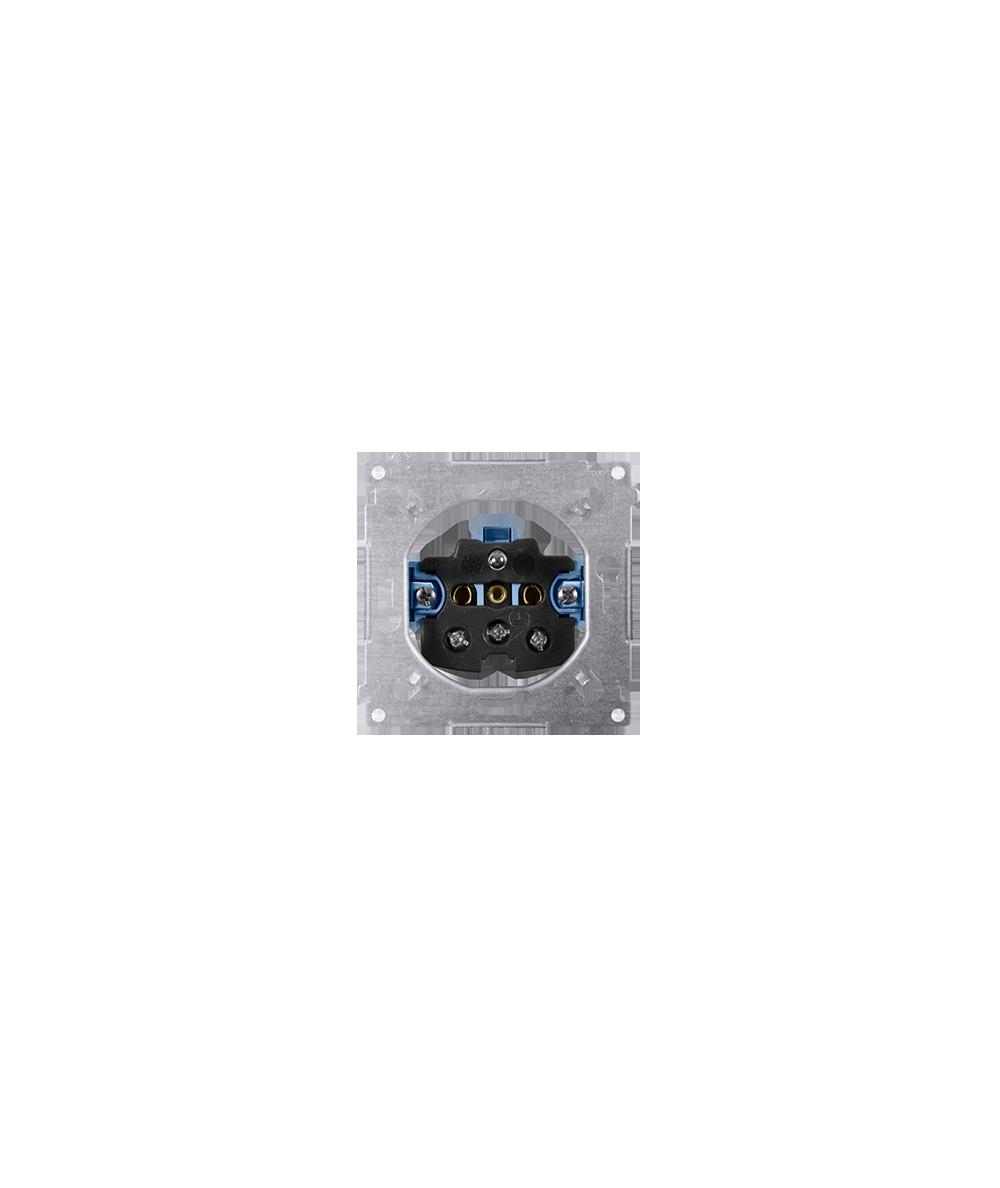 Simon 54 Gniazdo wtyczkowe pojedyncze z uziemieniem SGZ1M