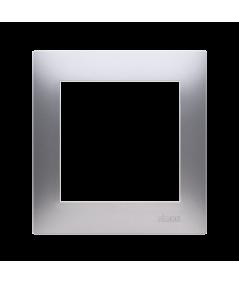 Simon 54 Ramka 1- krotna do puszek karton-gips srebrny mat, metalizowany DRK1/43