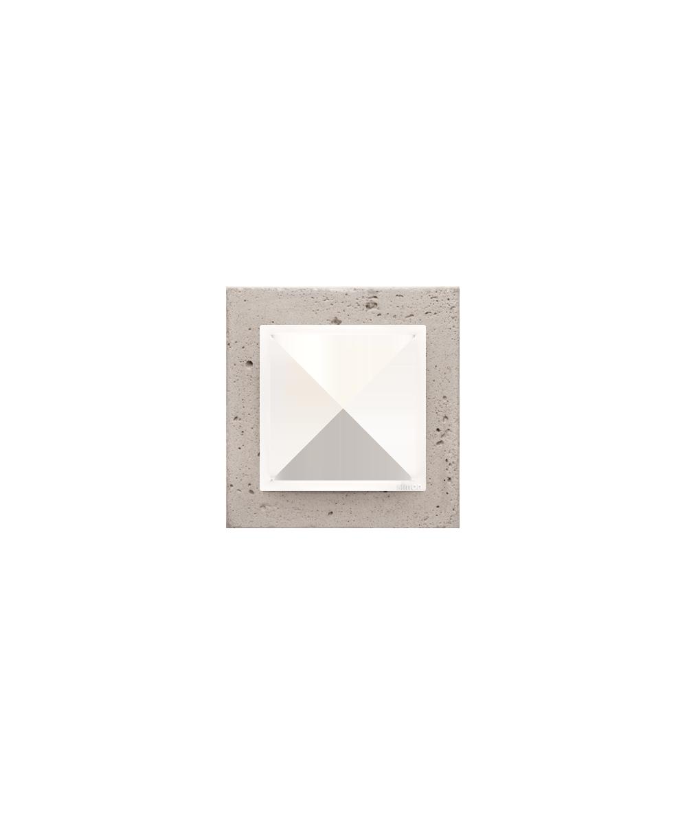 Simon 54 Nature- Ramka 1-krotna betonowa Al betone
