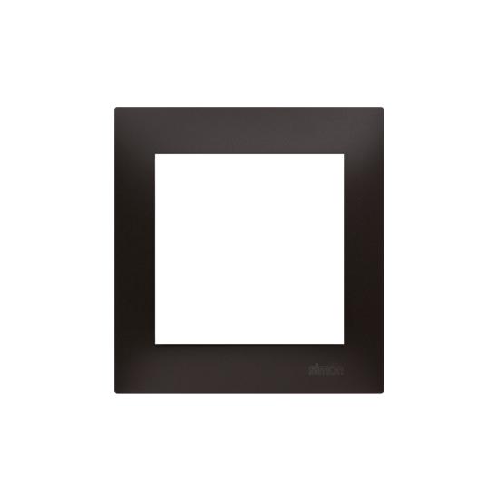 Simon 54 Ramka 1-krotna do puszek karton-gips antracyt, metalizowany  DRK1/48