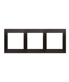 Simon 54 Ramka 3-krotna do puszek karton-gips antracyt, metalizowany  DRK3/48