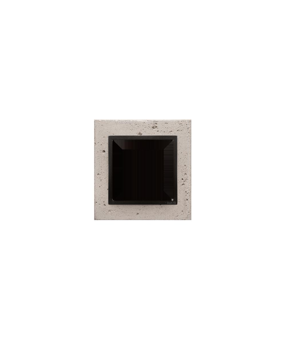Simon 54 Nature- Ramka 1-krotna betonowa Funda mente