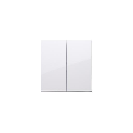 Simon 54 Klawisz podwójny do łączników i przycisków biały  DKW5/11