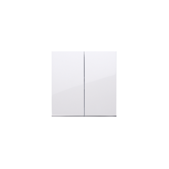 Simon 54 Klawisze do łącznika podwójnego schodowego SW6/2M biały  DKW6/2/11