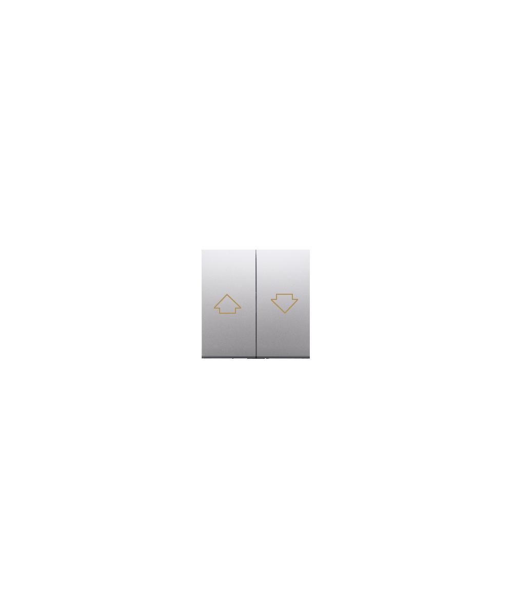 Simon 54 Klawisze do przycisku żaluzjowego SZP1M srebrny mat, metalizowany  DKZP1/43