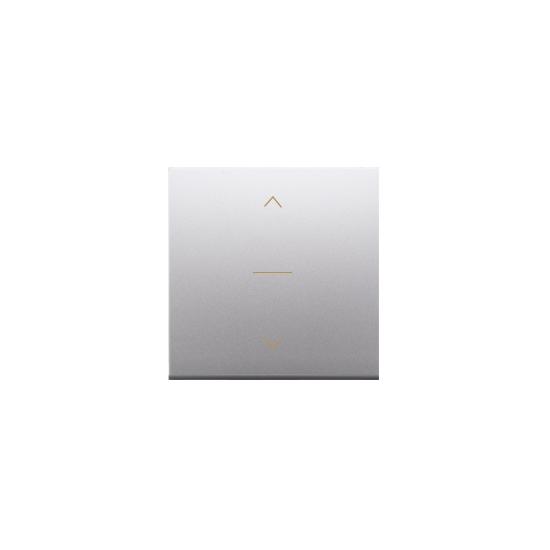 Simon 54 Klawisze do łącznika żaluzjowego pojedyńczego trójpozycyjnego 1-0-2 srebrny mat, metalizowany  DKZW1K/43