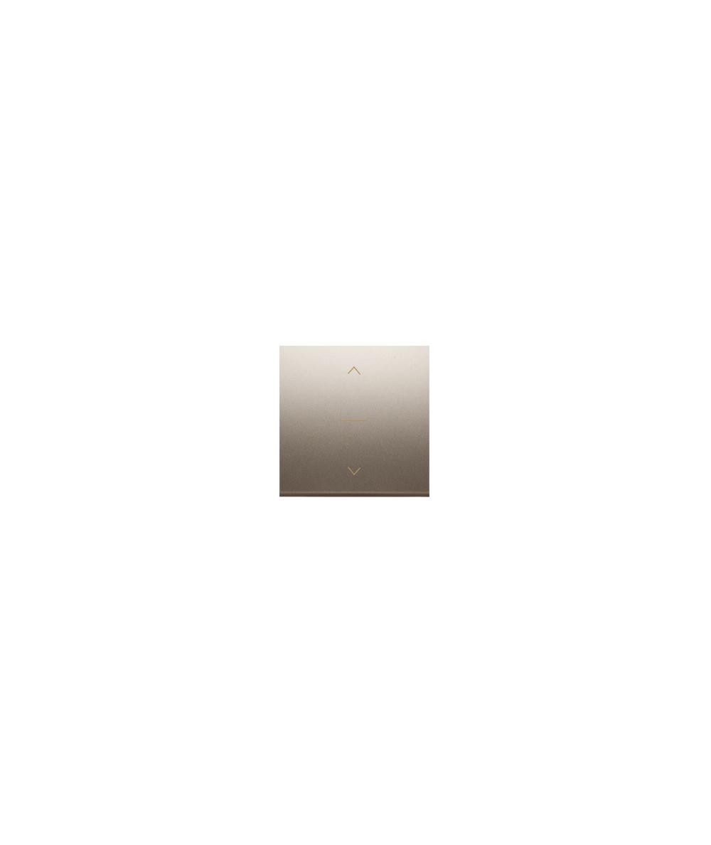 Simon 54 Klawisze do łącznika żaluzjowego pojedyńczego trójpozycyjnego 1-0-2 złoty mat, metalizowany  DKZW1K/44