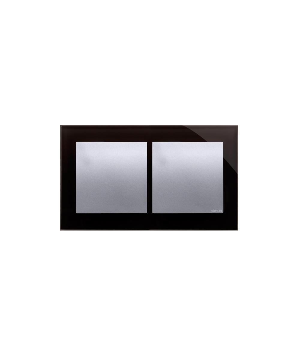 Simon 54 Nature- Ramka 2- krotna szklana księżycowa lawa
