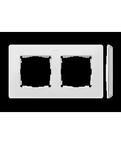 Simon 82 Detail ORIGINAL Ramka 2-krotna biały   8200620-030