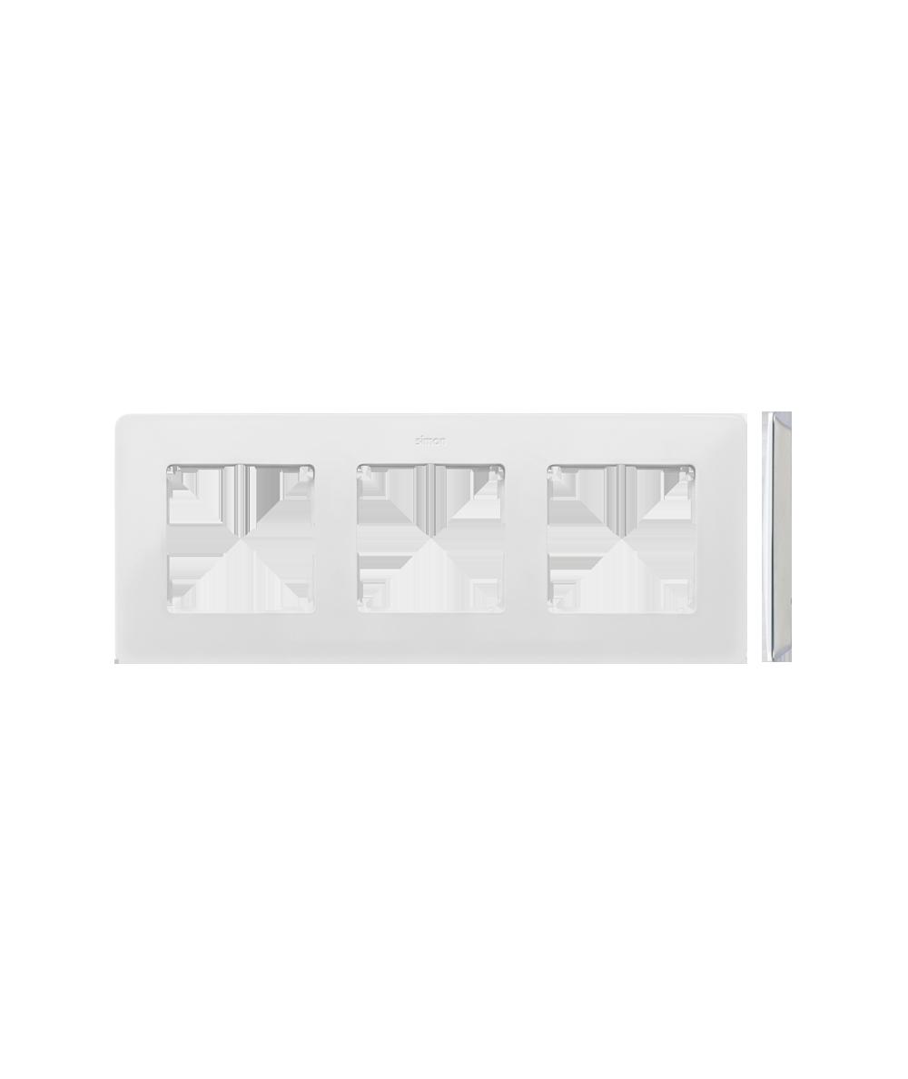 Simon 82 Detail ORIGINAL Ramka 3-krotna biały  8200630-030