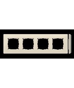 Simon 82 Detail ORIGINAL Ramka 4-krotna kremowy 8200640-031