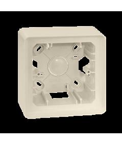 Simon 82 Detail ORIGINAL Puszka natynkowa 1-krotna kremowy  8200750-031