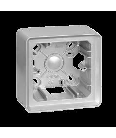 Simon 82 Detail ORIGINAL Puszka natynkowa 1-krotna aluminium  8200750-093