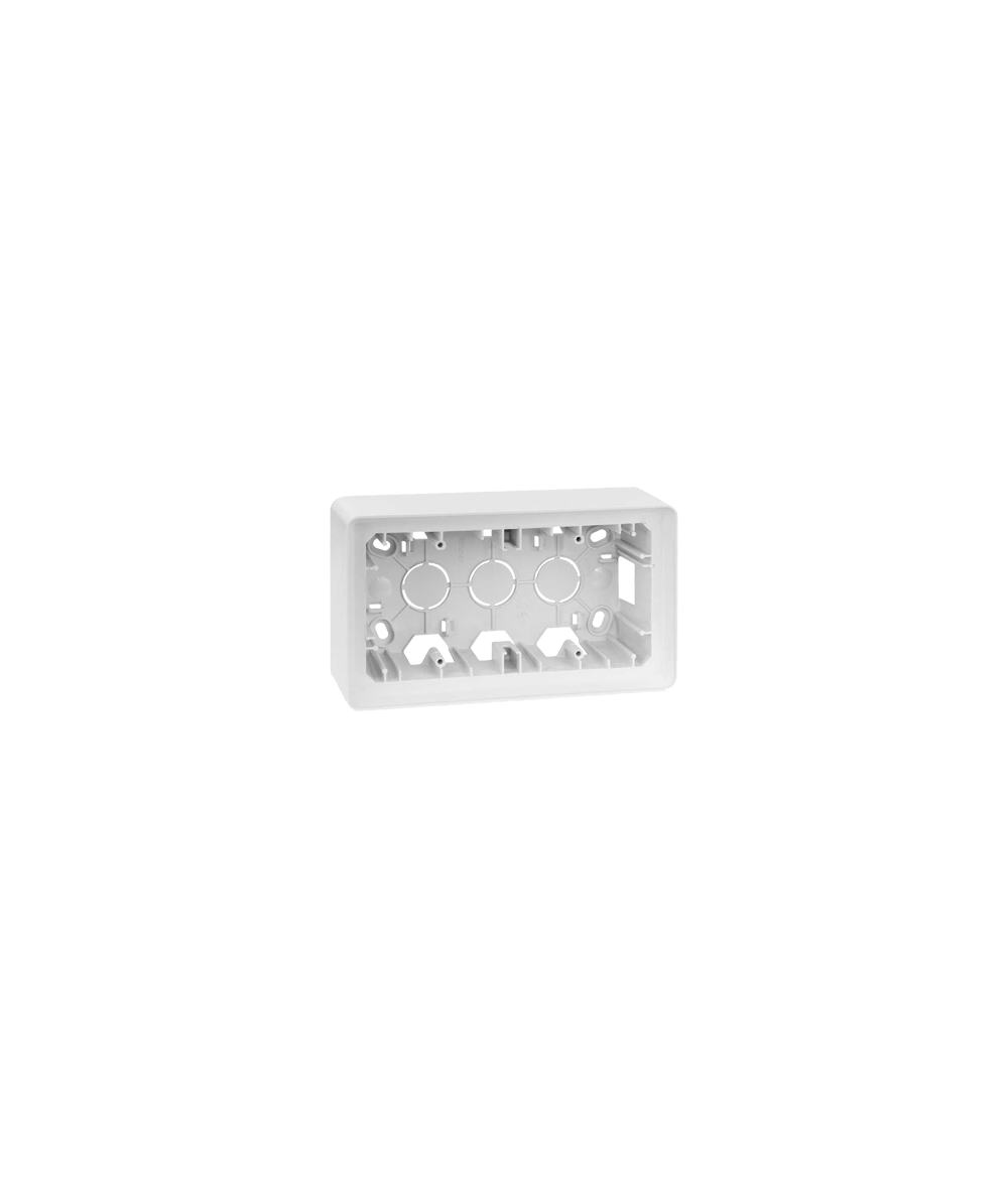 Simon 82 Detail ORIGINAL Puszka natynkowa 2-krotna biały  8200760-030