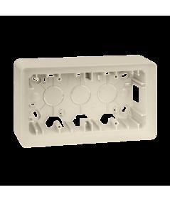 Simon 82 Detail ORIGINAL Puszka natynkowa 2-krotna kremowy   8200760-031