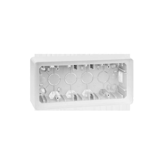 Simon 82 Detail ORIGINAL Puszka natynkowa 3-krotna biały  8200770-030