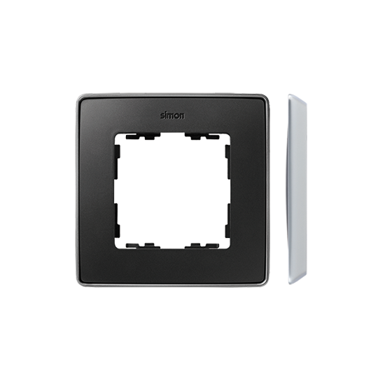 Simon 82 Detail SELECT Ramka 1-krotna aluminium grafit  8201610-240