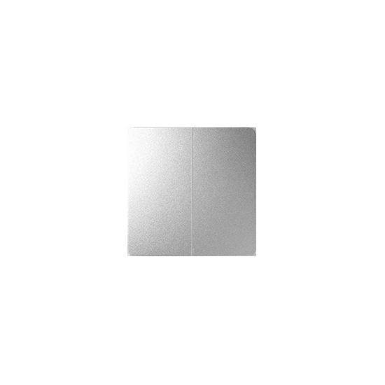 Simon 82 Klawisze podwójne do mechanizmu serii 75 aluminium  82026-93