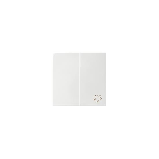 Simon 82 Klawisz podwójny do łączników i przycisków biały   82027-30