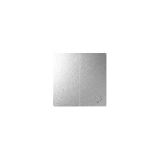 Simon 82 Klawisz podwójny do łączników i przycisków aluminium  82027-93