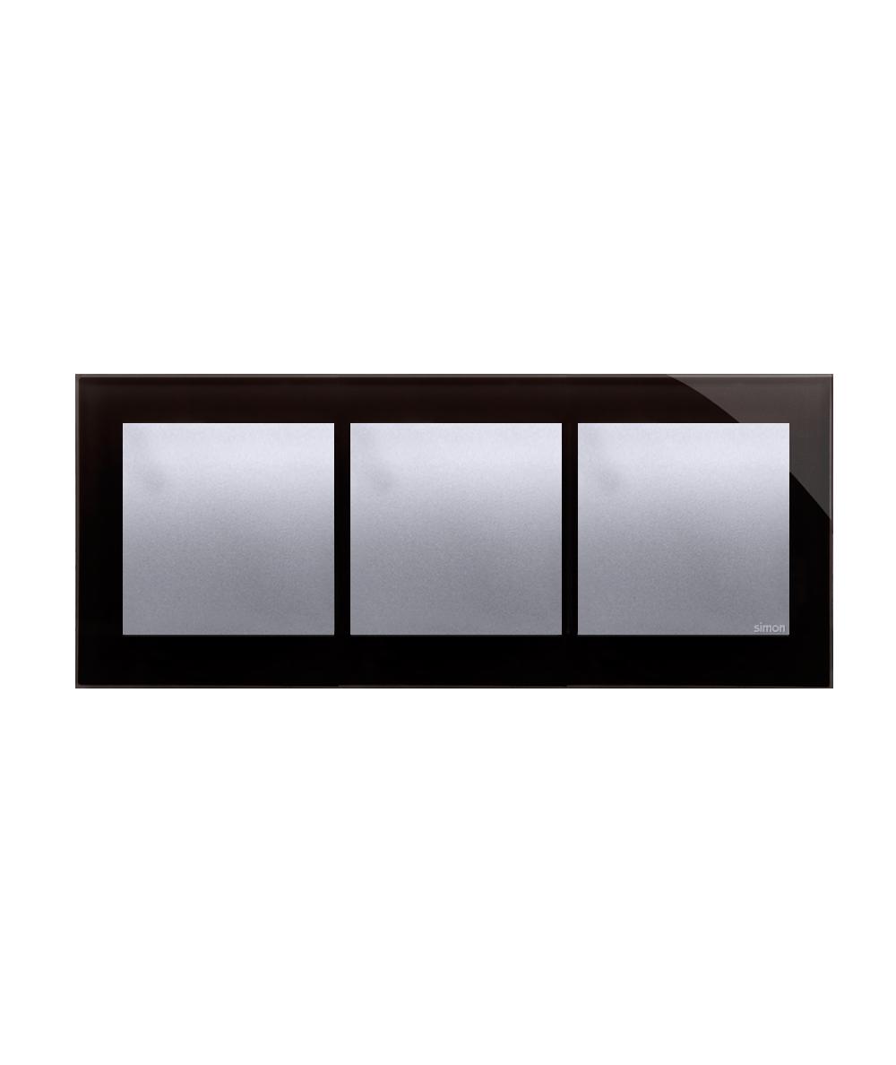 Simon 54 Nature- Ramka 3- krotna szklana księżycowa lawa