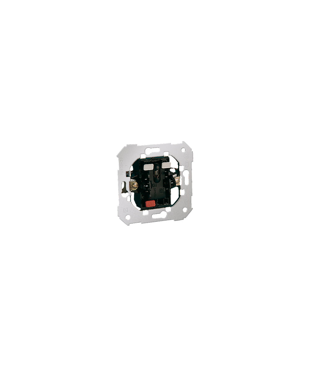 Simon 82 Przycisk pojedynczy zwierny z podświetleniem 10AX  75160-39