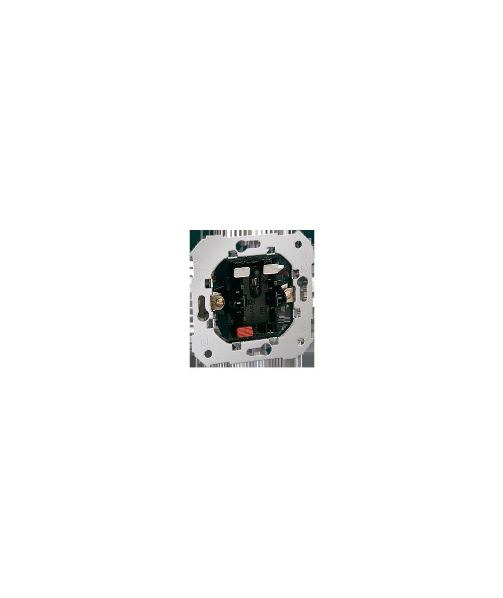 Simon 82 Łącznik jednobiegunowy z sygnalizacją załączenia 10AX   75102-39