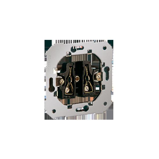 Simon 82 Gniazdo wtyczkowe pojedyncze bez uziemienia 16A  75431-39
