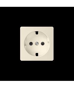 Simon 82 Pokrywa do gniazda wtyczkowego pojedynczego z uziemieniem typu Schuko beżowy  82041-31