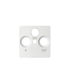 Simon 82 Pokrywa do gniazda antenowego SAT-SAT-RTV biały  82038-30