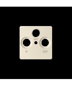Simon 82 Pokrywa do gniazda antenowego SAT-SAT-RTV beżowy  82038-31