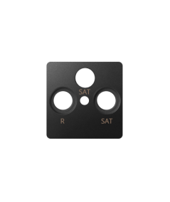 Simon 82 Pokrywa do gniazda antenowego SAT-SAT-RTV grafit  82038-38