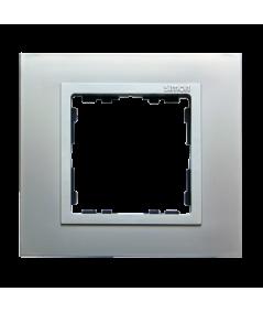 Simon 82 NATURE Ramka 1-krotna aluminium / aluminium mat  82917-33