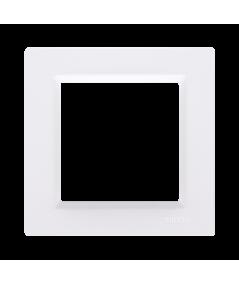 Simon 10 Ramka 1-krotna biały  CR1/11
