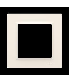 Simon 10 Ramka 1-krotna kremowy  CR1/41