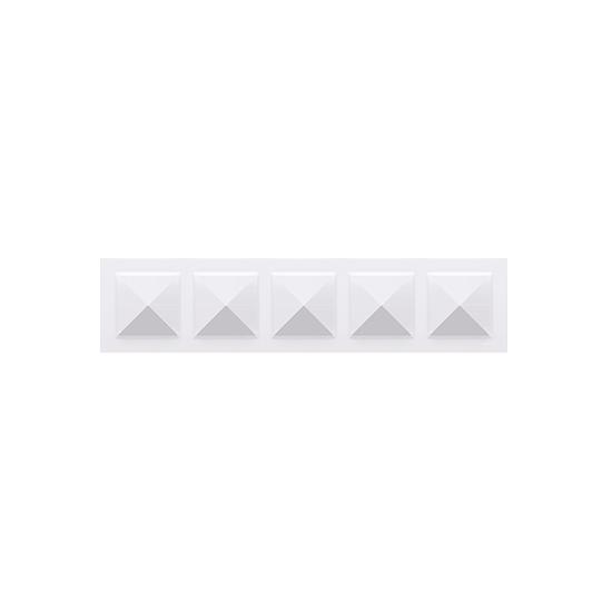 Simon 10 Ramka 5-krotna biały  CR5/11