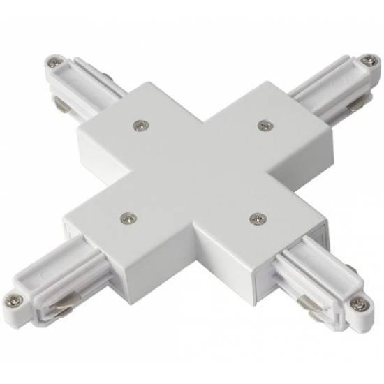 Łącznik X biały  do szynoprzewodów 1F