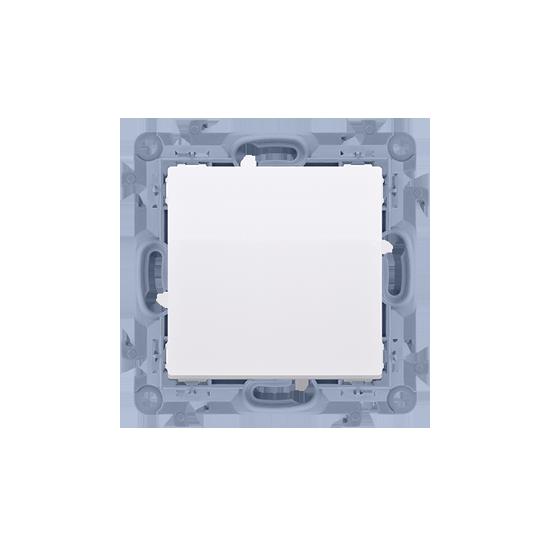 Simon 10 Przycisk pojedynczy zwierny bez piktogramu biały 10AX  CP1.01/11