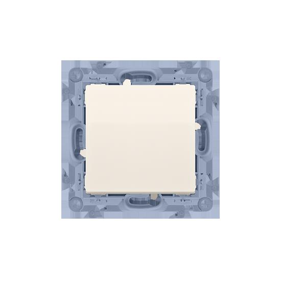 Simon 10  Przycisk pojedynczy zwierny bez piktogramu kremowy 10AX  CP1.01/41