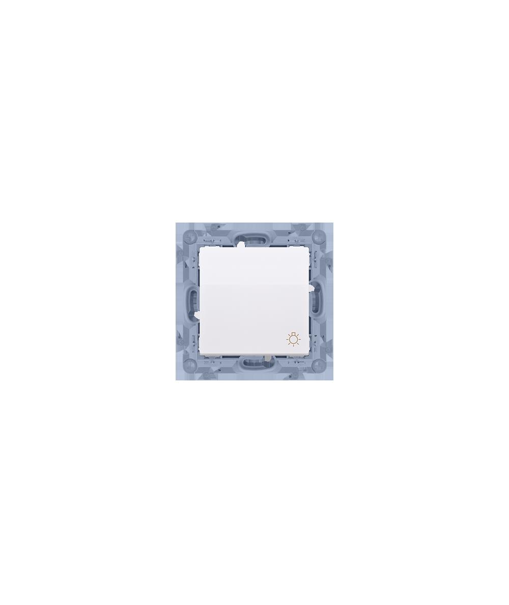 """Simon 10  Przycisk """"światło"""" biały 10AX  CS1.01/11"""