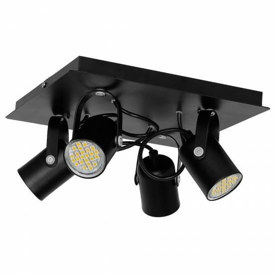 Lampa sufitowa PICO BLACK 4xGU10