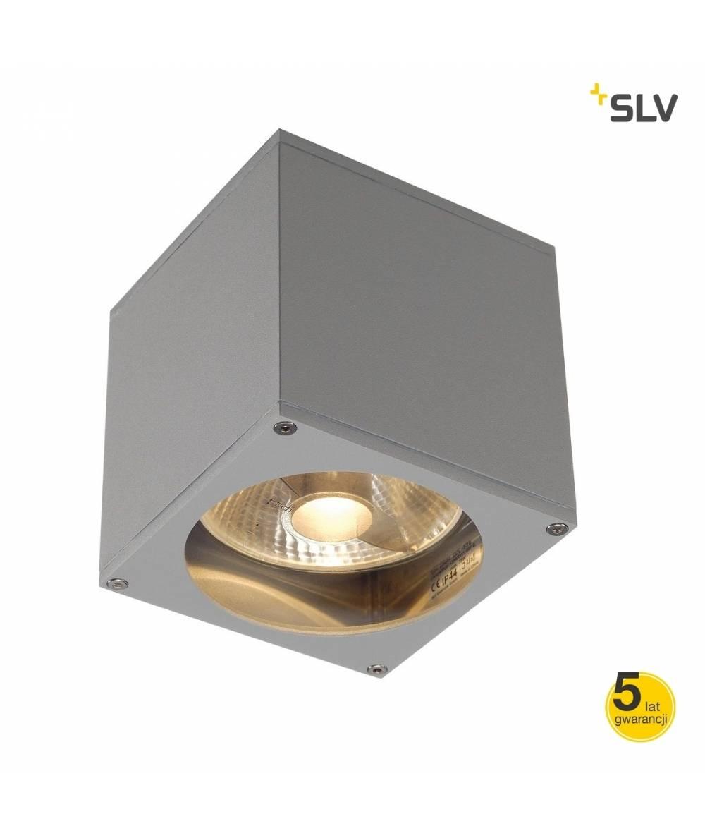 SLV  LAMPA ELEWACYJNA BIG THEO WALL OUT SREBRNOSZARY  229564