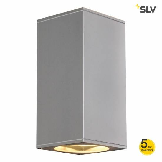 SLV  LAMPA ELEWACYJNA BIG THEO G/D OUT SREBRNOSZARY  229574