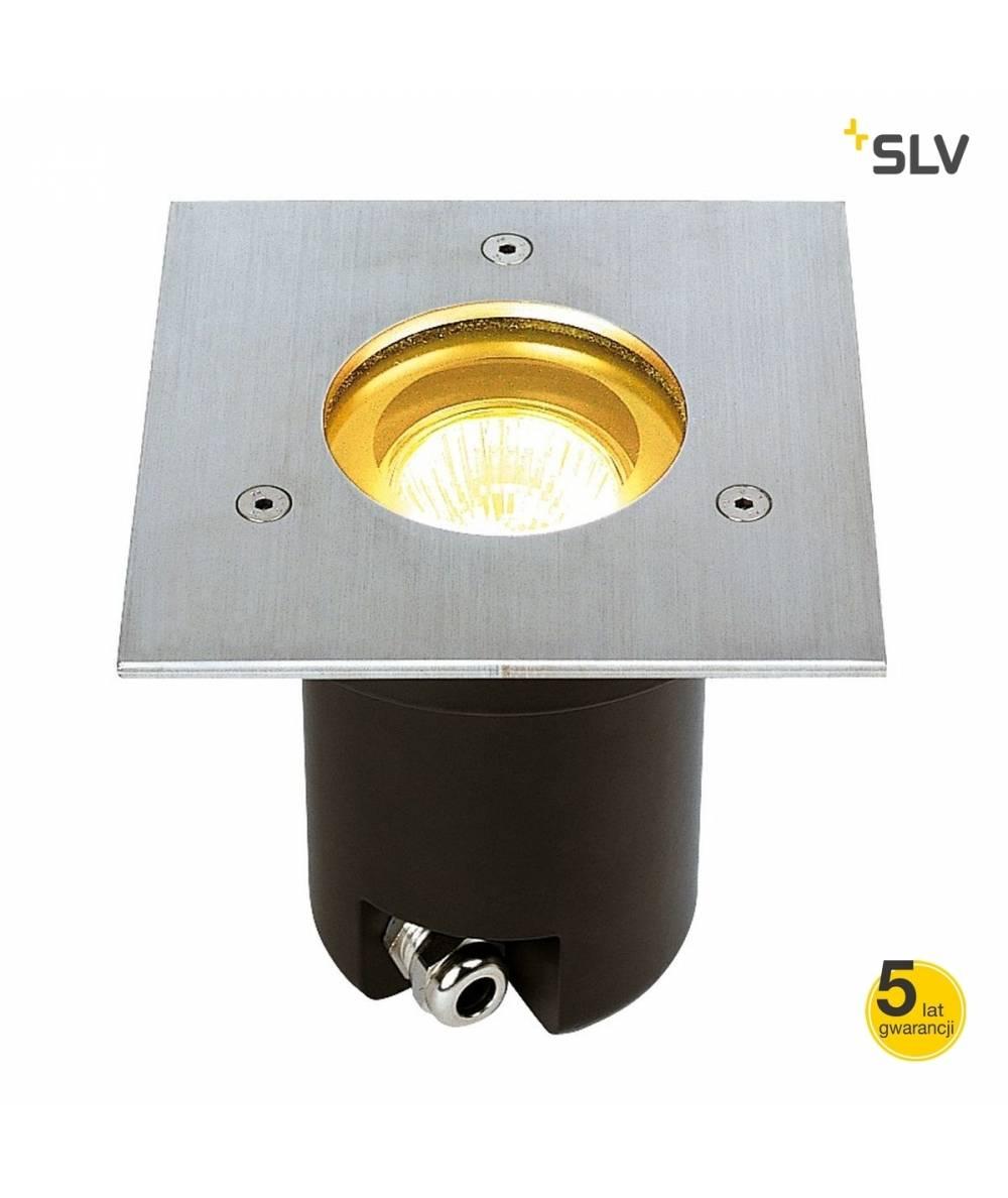 SLV LAMPA DOGRUNTOWA ADJUST GU10 KWADRATOWA, STAL 304  228214