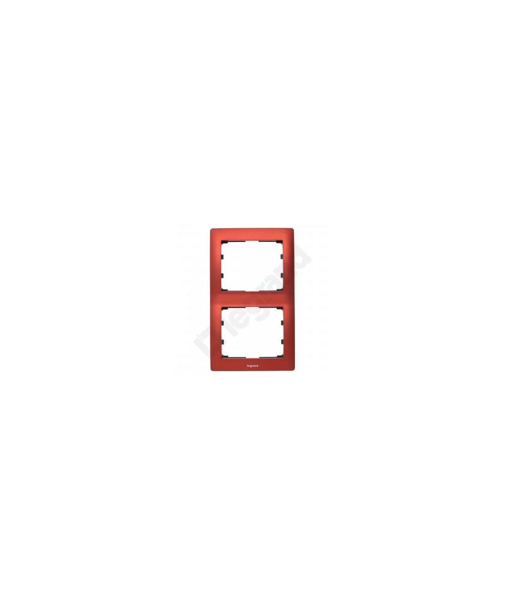 SISTENA LIFE Ramka MAGIC RED podwójna pionowa 771906