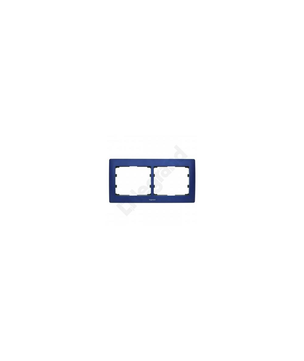SISTENA LIFE Ramka MAGIC BLUE podwójna pozioma 771912