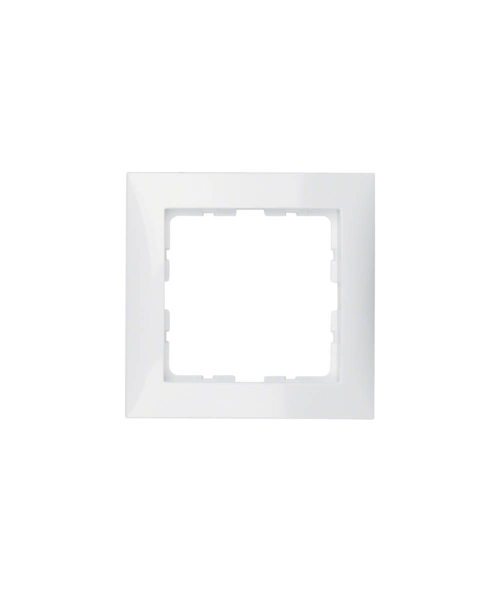 Ramka B.Kwadrat 1-krotna biała 5310118989