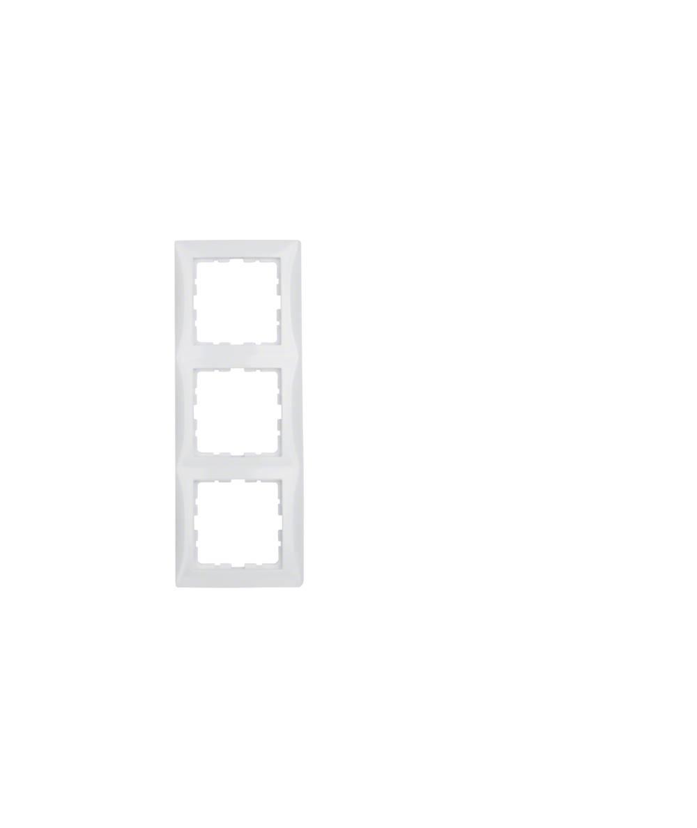Ramka B.Kwadrat 3-krotna biała 5310138989