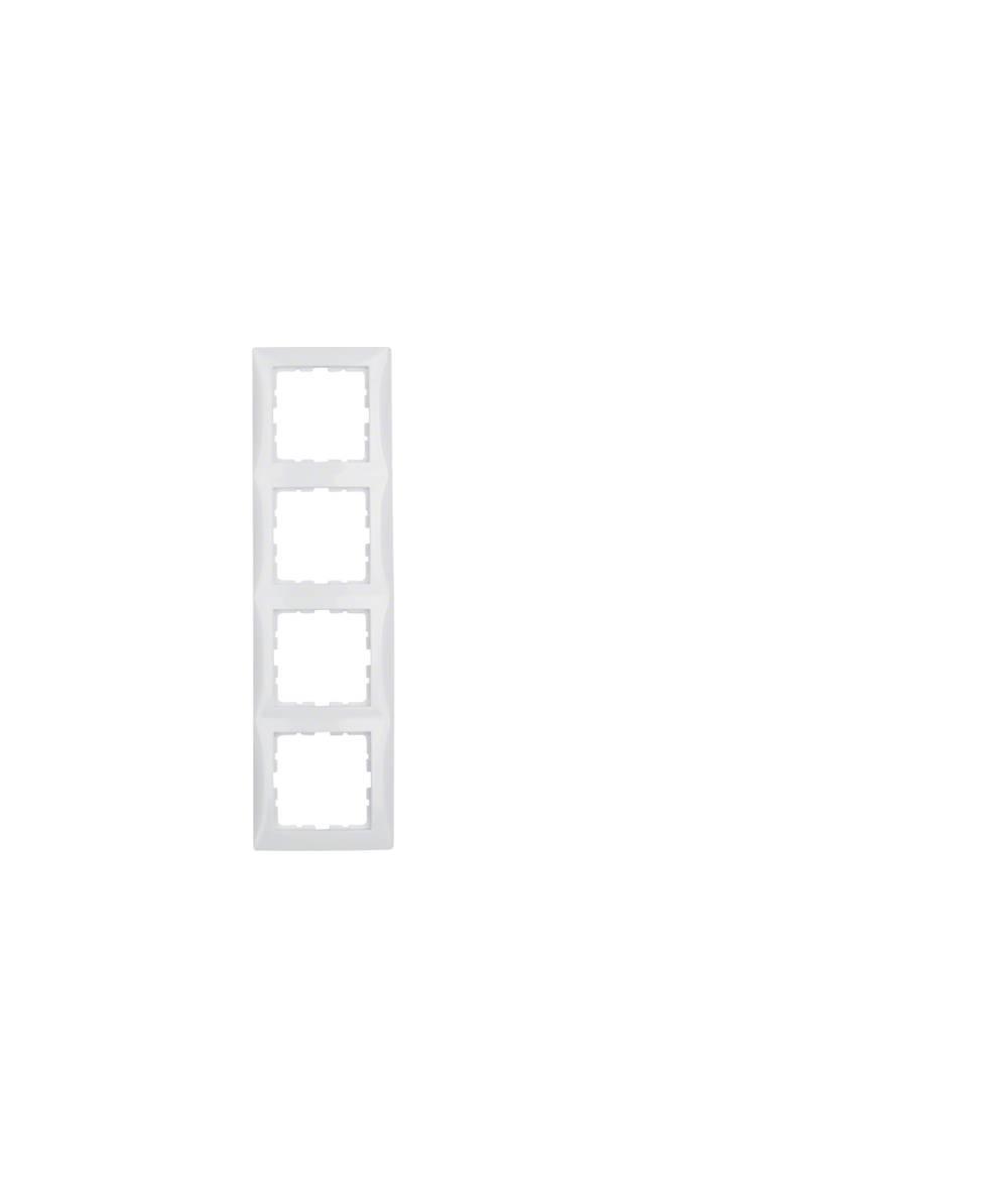 Ramka B.Kwadrat 4-krotna biała 5310148989