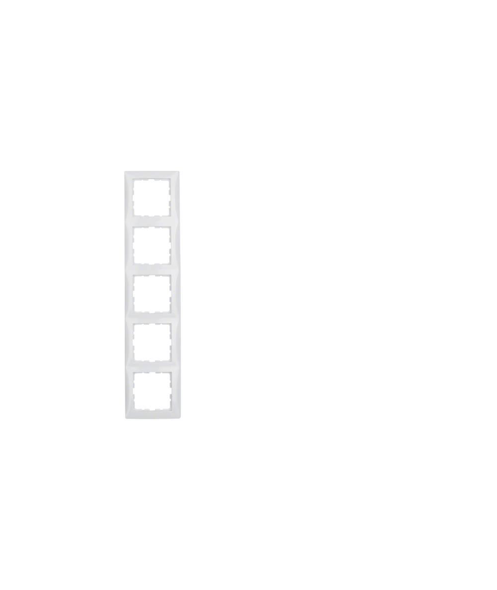 Ramka B.Kwadrat 5-krotna biała 5310158989